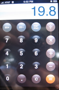 iPhoneCalculator