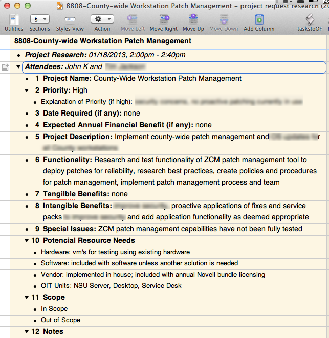 meeting notes template ready to use completed meeting notes completed